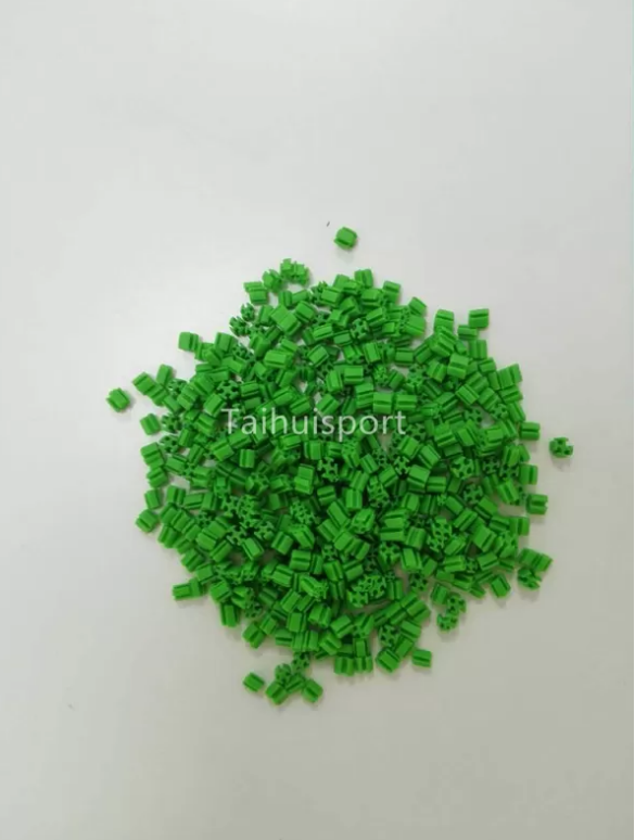 Outdoor Artificial Turf Infill Synthetic Grass UV Resistant SEBS Rubber Granules Cooling Infill Anti-Static