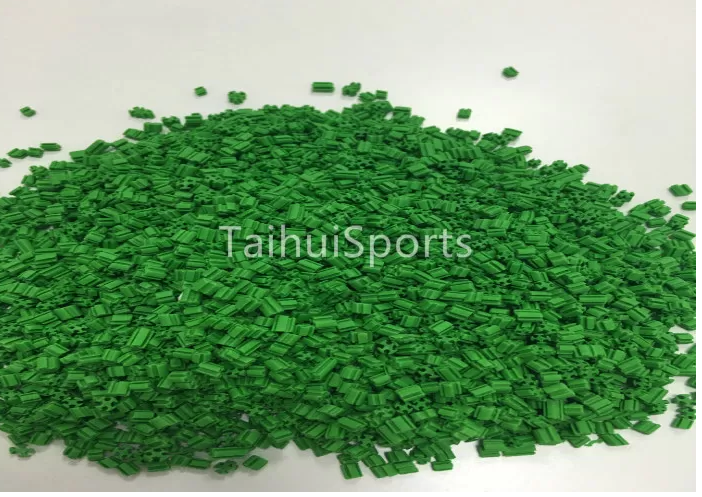 EPDM Rubber no absorbing water UV Resistant Synthetic Grass Infill Recycling For Artificial Grass System Long Lifespan