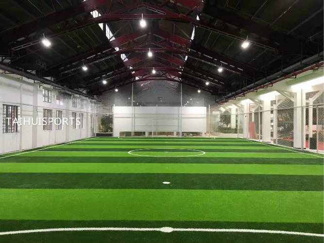 Two Sides Grooved Water Proof PE Foam  Light Weight Baseball Football Artificial Grass Underlay High Density 70 Kg/M3 3
